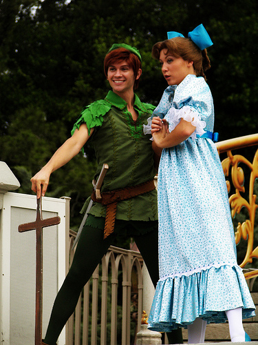 cuento de peter pan con wendy